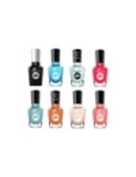 Six Bottles Of Sally Hansen Miracle Gel Nail Polish by Groupon