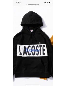 supreme-lacoste-hoodie-black-2019-small by supreme  ×  lacoste  ×