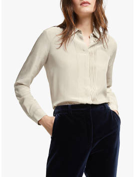 weekend-maxmara-ordito-silk-shirt,-beige by weekend-maxmara
