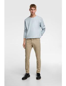 pantaloni-new-slim-fit-basic by zara