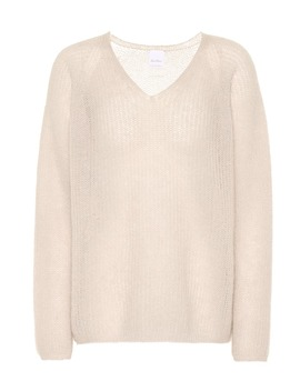 leisure-alea-mohair-and-wool-blend-sweater by max-mara
