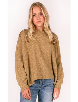 soft-side-knit-top---khaki by riffraff
