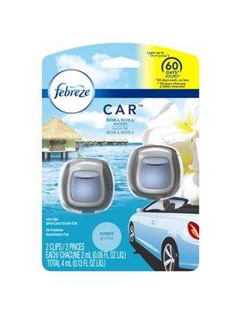 febreze-car-air-freshener-vent-clip,-bora-bora-waters,-2-count by febreze