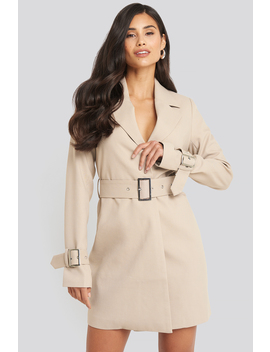 wide-belted-blazer-dress-beige by afjxnakd