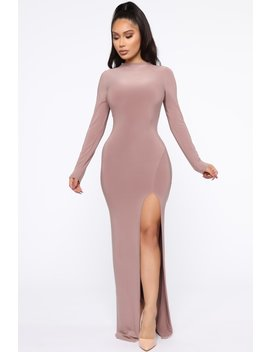the-right-fit-maxi-dress---taupe by fashion-nova