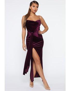 my-greatest-weakness-velvet-maxi-dress---purple by fashion-nova