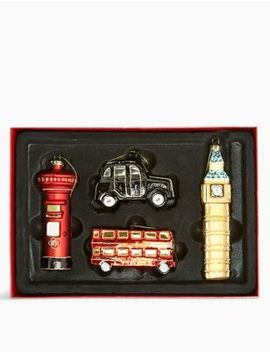 4-pack-london-tree-decorations by marks-&-spencer