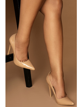 #Luxeforall Cassie Court Heels In Tan Vegan Leather by Luxe To Kill
