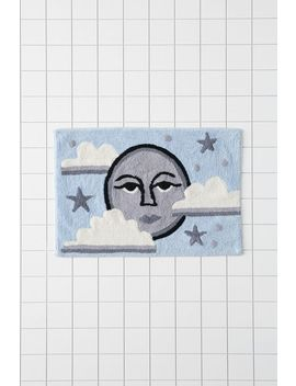 moon-face-bath-mat by urban-outfitters