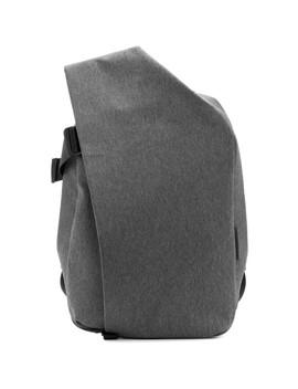 grey-mélange-ecoyarn-medium-isar-rucksack by cÔte-&-ciel