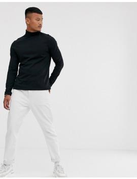 asos-design---confezione-da-2-t-shirt-a-maniche-lunghe-con-collo-alto---risparmia by asos-design