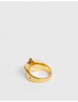 seven-london-–-goldener-ring-mit-stern by asos