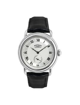 mens-canterbury-silver-tone-black-strap-watchmens-canterbury-silver-tone-black-strap-watch by sears