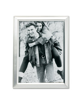 brushed-silver-plated-35x5-metal-picture-frame by lawrence-frames