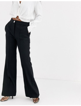 river-island-flared-trousers-in-black by river-island