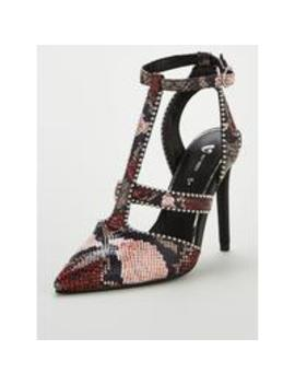calaya-studded-high-open-court-shoes---snake-print by v-by-very