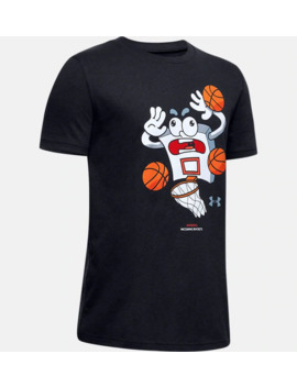 boys-ua-warning:-incoming-buckets-short-sleeve by under-armour