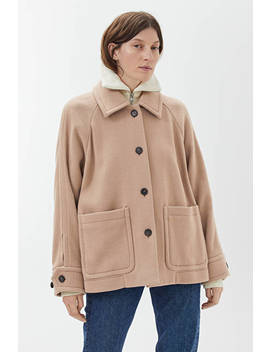 overshirt-style-wool-jacket by arket