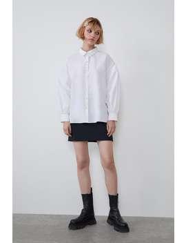 shirt-with-back-pleat by zara
