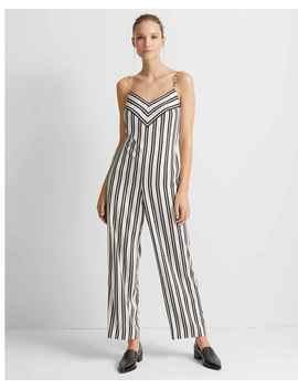 bar-stripe-jumpsuit by club-monaco