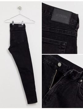 weekday-cone-slim-tapered-jeans-in-tuned-black by weekday