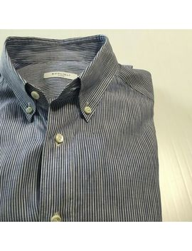 boglioli-italy-ltwt-linen-cotton-shirt-blue-stripe-recent-extra-slim-155-39 by boglioli