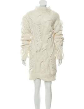patchwork-aran-sweater-dress-w_-tags by coach