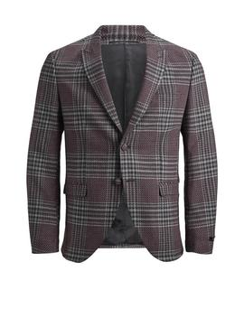 Knit Style Checkered Blazer by Jack & Jones