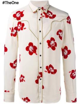 saint-laurent-hibiscus-floral-shirt by saint-laurent-paris  ×
