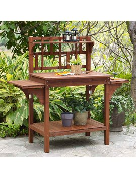 coral-coast-halstead-outdoor-wood-potting-bench-with-storage--brown by hayneedle