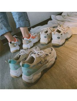 hipsole---mesh-panel-chunky-sneakers by hipsole