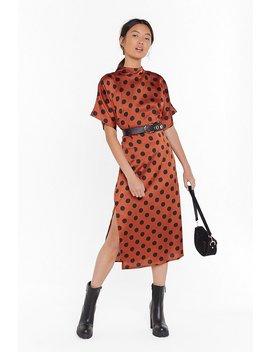 feeling-fine-polka-dot-midi-dress by nasty-gal