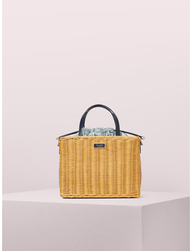 sam-wicker-medium-satchel by kate-spade