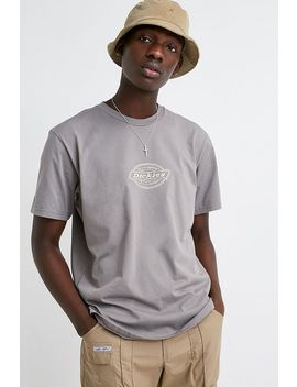 dickies-uo-exclusive-embroidered-washed-black-t-shirt by dickies