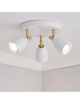 clio-3-light-white-spotlight by dunelm