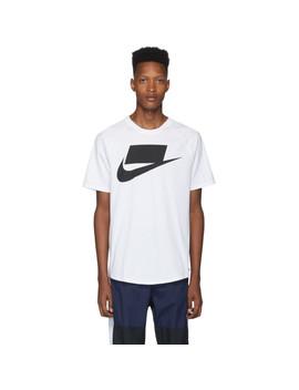 white-sportswear-t-shirt by nike
