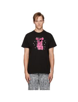 black-gummy-bear-t-shirt by noon-goons