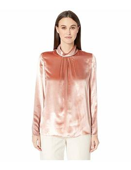 liquid-velvet-turtleneck-top by red-valentino