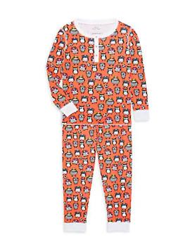 babys,-little-kids,-kids-owlighans-two-piece-pajama-set by roller-rabbit