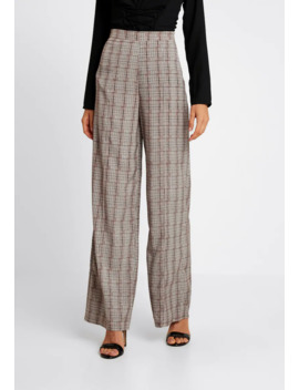 check-high-waisted-trousers---bukse by missguided