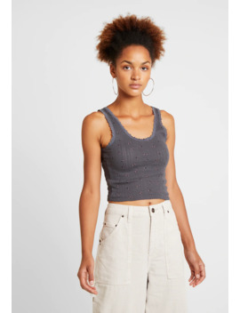 print-pointelle-tank---topper by bdg-urban-outfitters