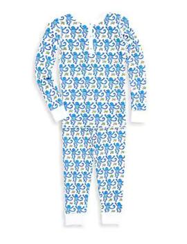toddlers,-little-boys-&-boys-two-piece-monkey-print-pima-cotton-pajama-set by roller-rabbit