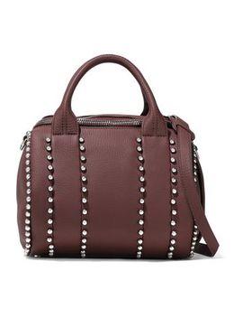 rockie-studded-pebbled-leather-shoulder-bag by alexander-wang