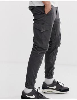 jack-&-jones-cuffed-cargo-pants-in-gray by jack-&-jones