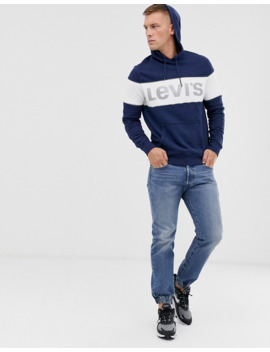 levis-reflective-logo-hoodie by levis