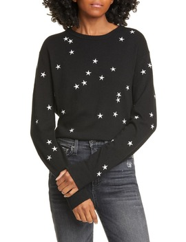nartelle-embroidered-star-sweater by equipment