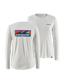 Patagonia Women's Long Sleeved Capilene® Cool Daily Graphic Shirt by Patagonia