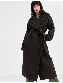 weekday---lia---oversized-jas-in-donkerbruin by weekday