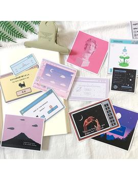 """""""vaporwave""""-stickers by aesthentials"""