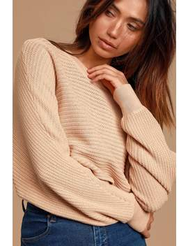 first-choice-tan-knit-dolman-sleeve-cropped-sweater by lulus